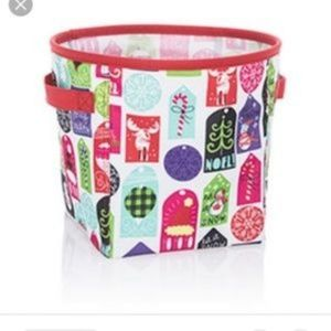 NWT   THIRTY-ONE  HELLO HOLIDAY MINI STORAGE BIN